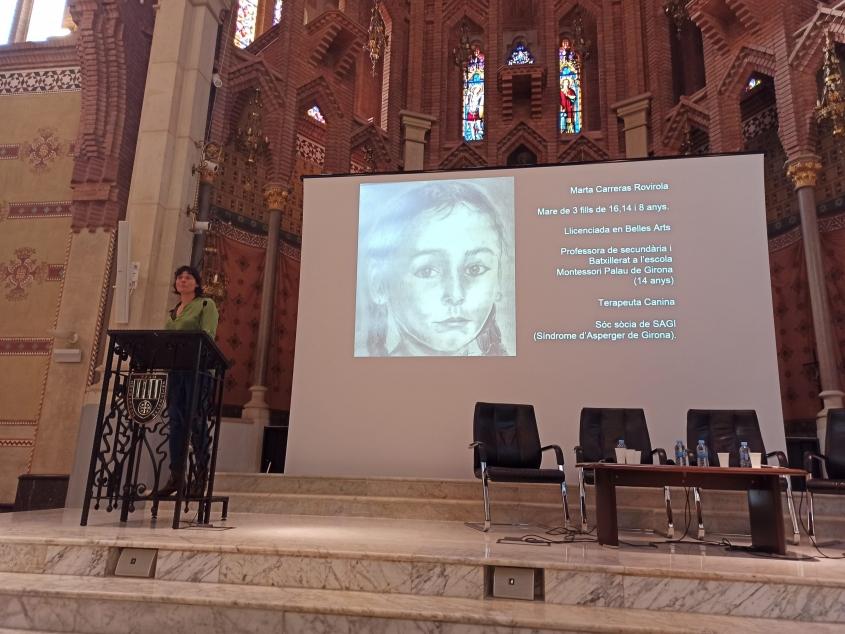 Marta Carreras participa en el dia internacional de la síndrome d'Asperger
