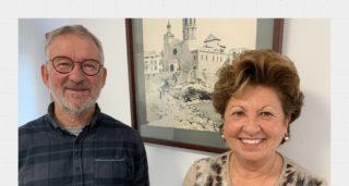 Carme Panyella i Artur Duch, autors de 'La cova del gegant', convidats a Radio Maricel